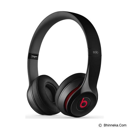 BEATS™ BY DRE™ Solo 2 On-Ear Headphone [MH8W2PA/A] - Black - Headphone Portable